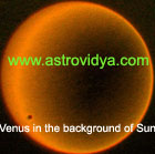 Venus conjunct with Sun is a regular phenomenon